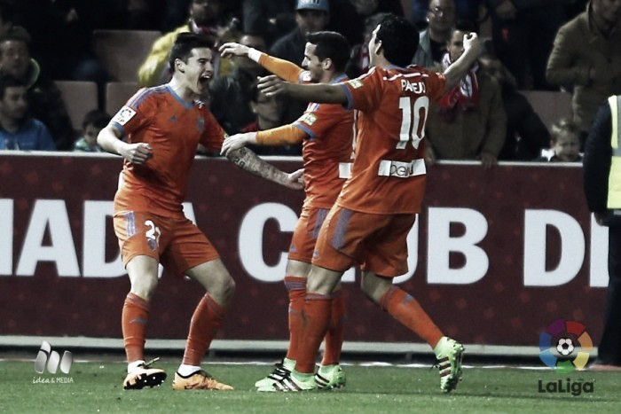 Granada 1-2 Valencia: Los Che secure their third win on the bounce