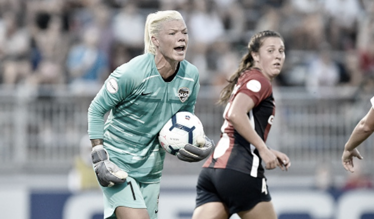 Jane Campbell saves Houston Dash win against Washington Spirit