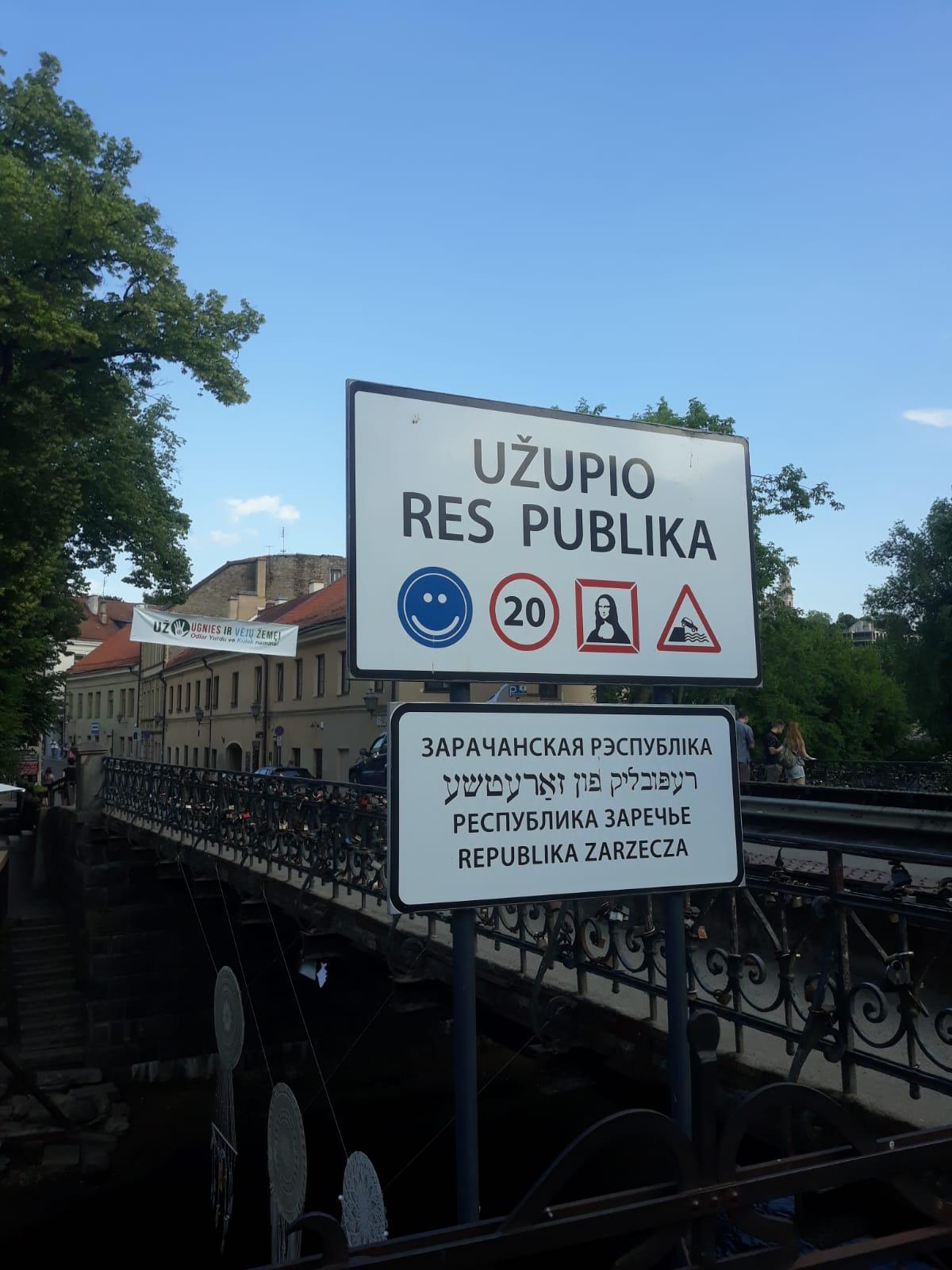 Užupis: al otro lado del río