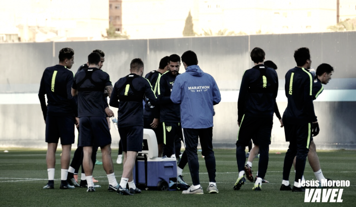 El Málaga de José González se prueba ante el Lausanne