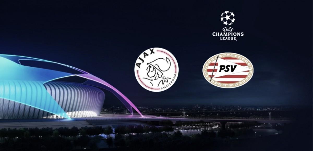 Ajax y PSV Eindhoven ya tienen grupo. Foto: ChampionsLeague