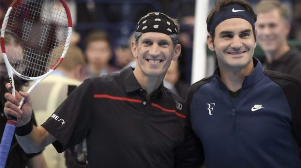 Jarkko Nieminen Ends Career With Singles Exhibition Against Roger Federer