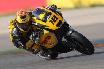 Moto2: Jordi Torres manda en Motorland Aragón