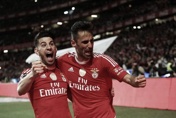 Avalanche goleadora na Luz: Benfica esmaga Braga por 5-1