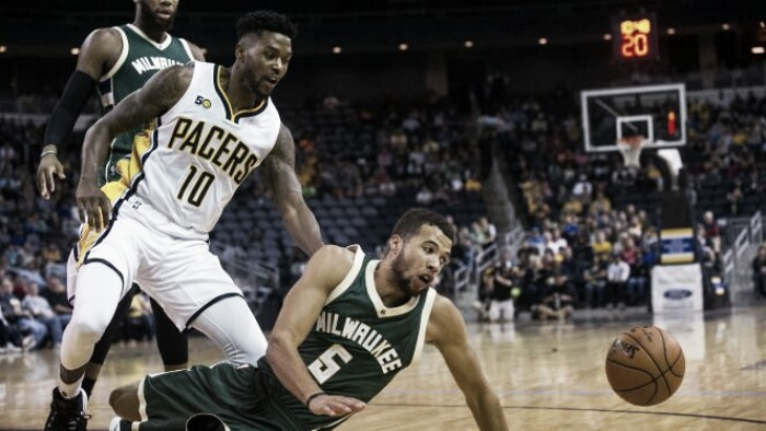 Indiana Pacers acaba con la imbatibilidad de Milwaukee Bucks en pretemporada