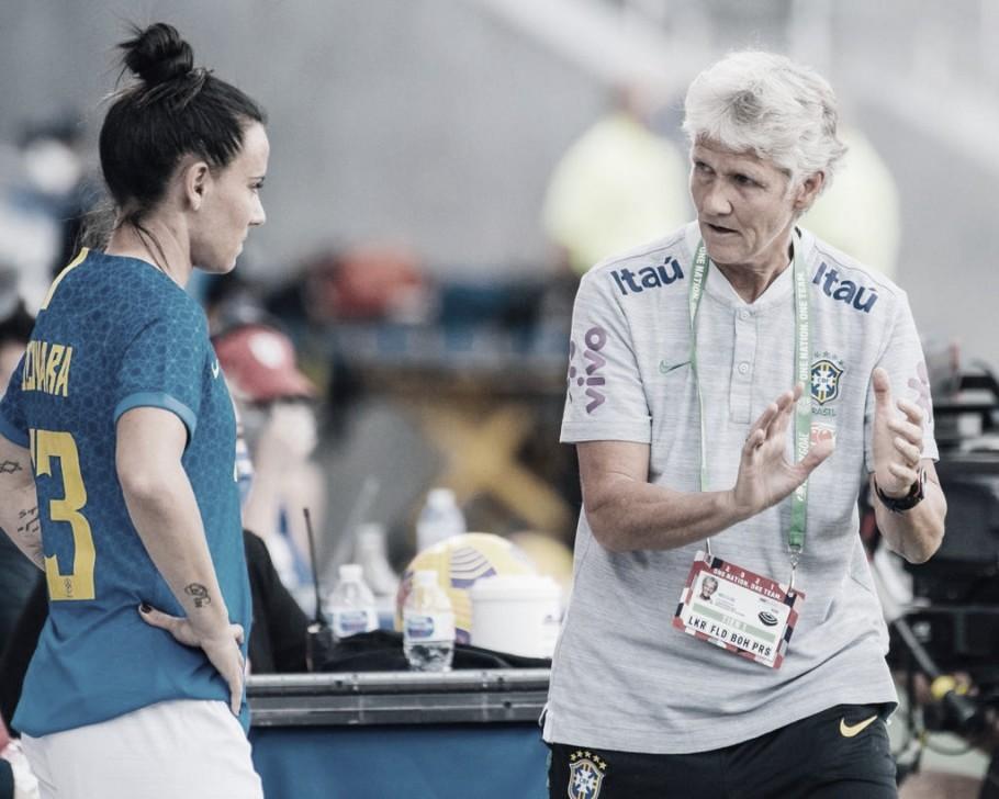 Pia Sundhage faz balanço do desempenho da Seleção Brasileira no Torneio She Believes
