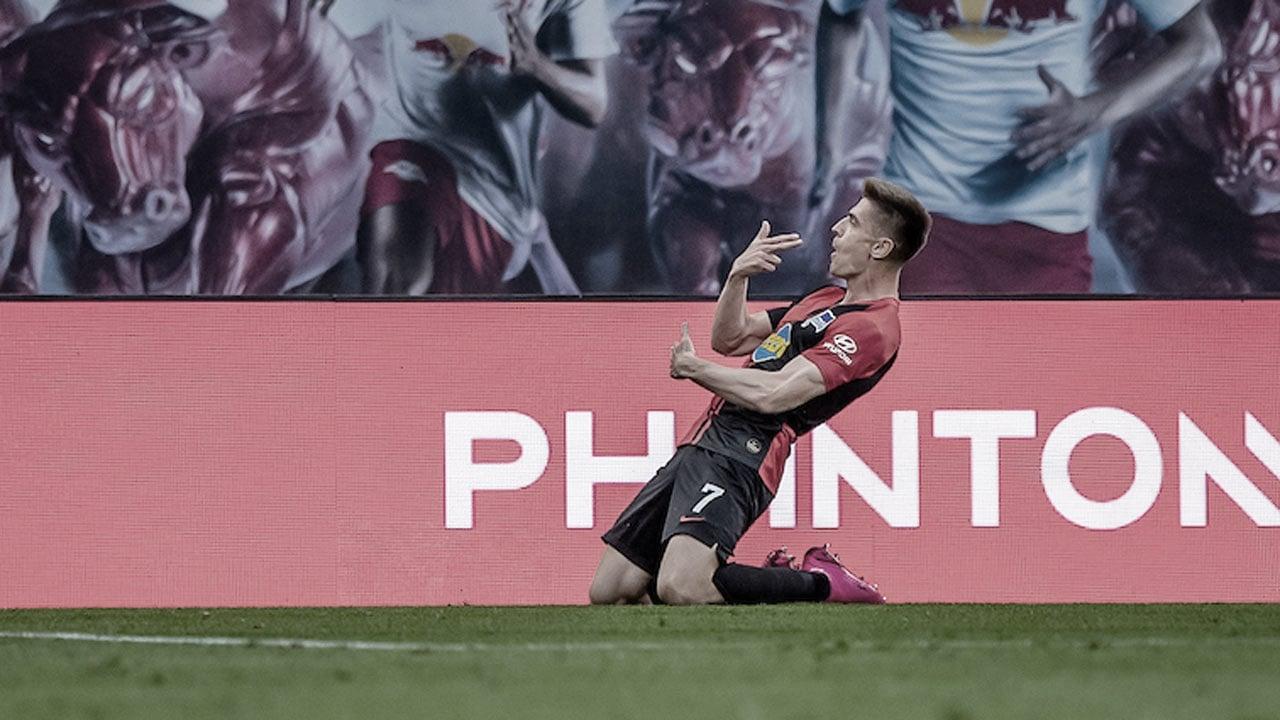 Hertha BSC evita que el RB Leipzig sea segundo (2-2)