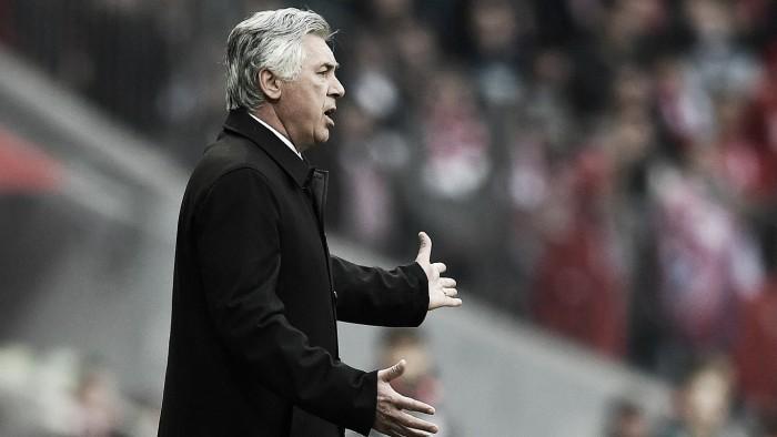 "Ancelotti lamenta tropeço do Bayern diante do Hoffenheim: ""Merecíamos a vitória"""