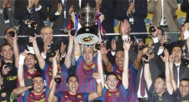 FC Barcelona Alusport repite corona ante ElPozo Murcia