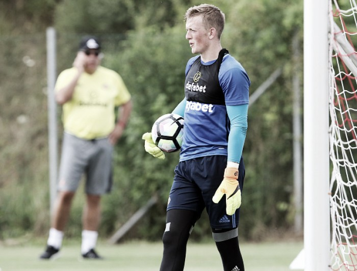 Jordan Pickford looking to lend a hand in pre-season
