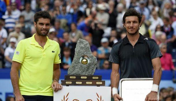 En la definición del ATP de Gstaad, Juan Mónaco cayó ante Pablo Andújar