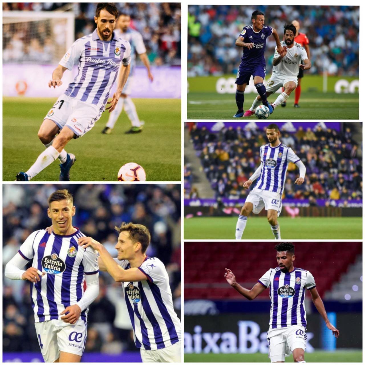 Análisis de los centrocampistas del Real Valladolid