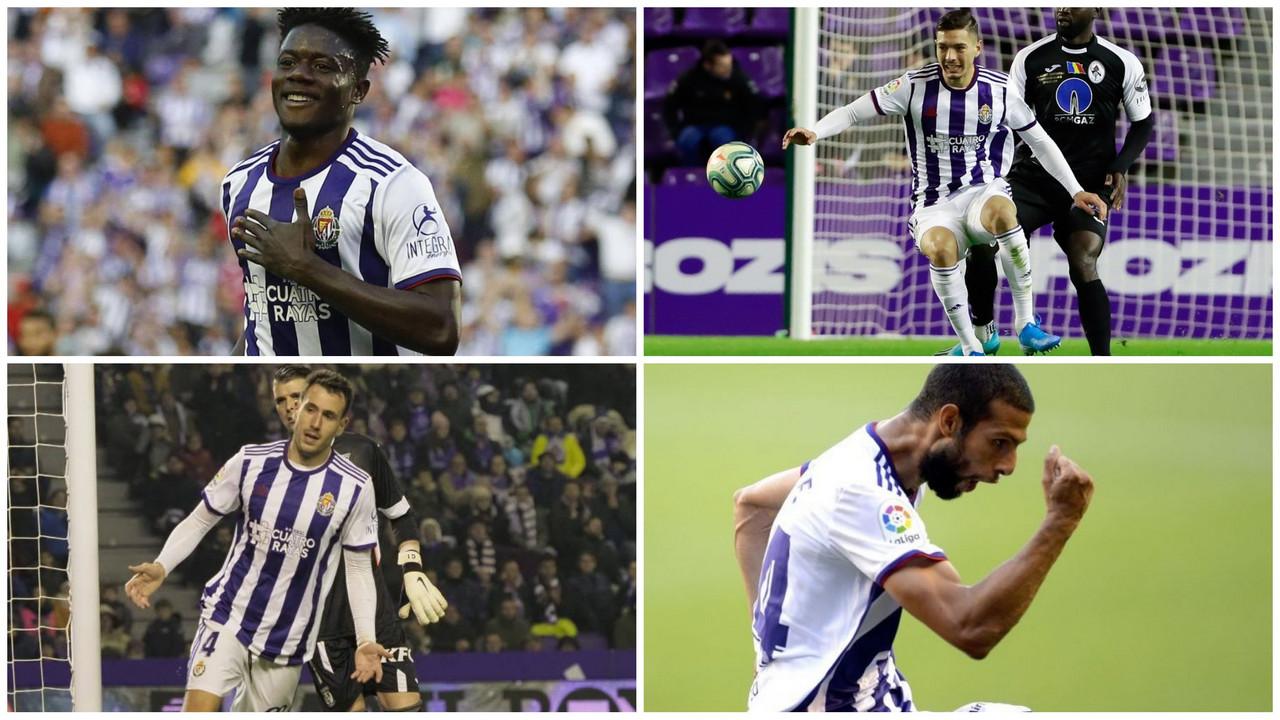 El centro de la defensa, la clave del éxito del Valladolid