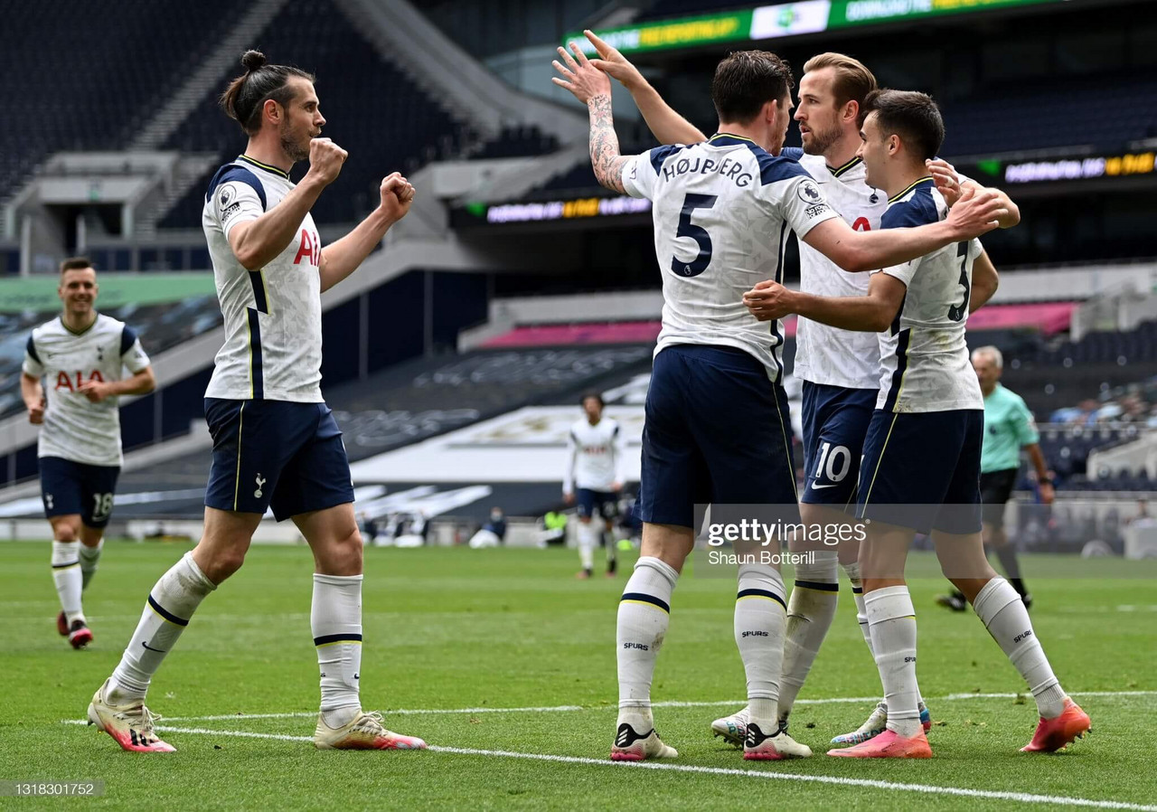 Tottenham Hotspur 2-0 Wolverhampton Wanderers: Kane and Hojbjerg see Spurs past tepid Wolves
