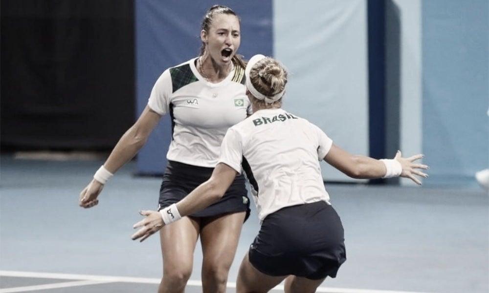 Pigossi/Stefani batem Mattek-Sands/Pegula e se aproximam de medalha inédita para Brasil no tênis