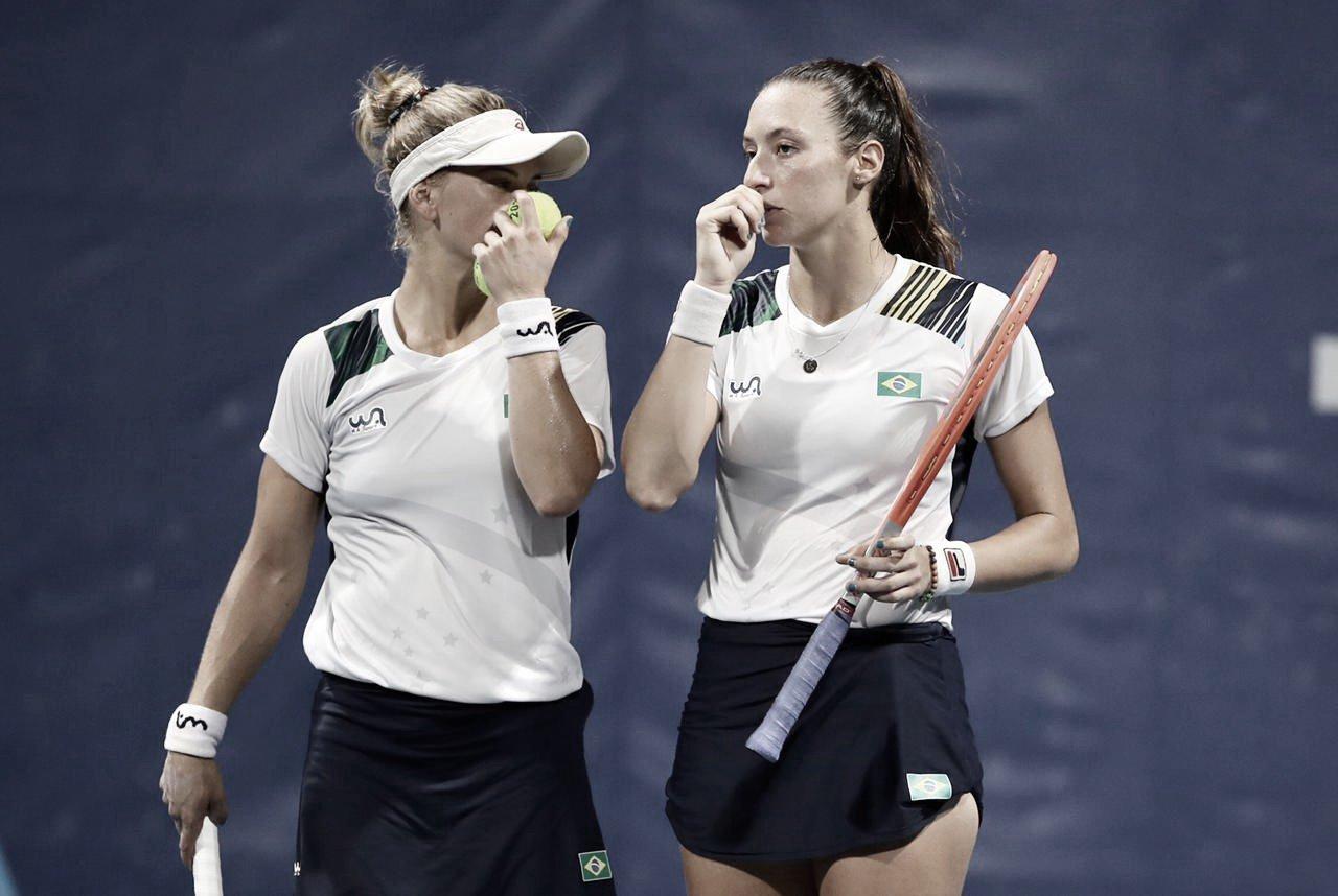 Pigossi/Stefani perdem para Bencic/Golubic e vão para disputa do bronze em Tokyo 2020