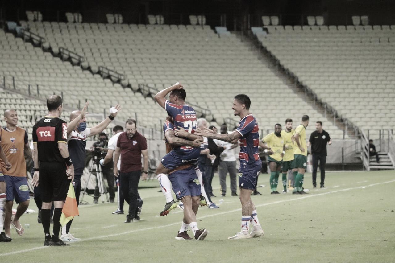Com golaço de Yago Pikachu, Fortaleza vence Ypiranga e avança na Copa do Brasil