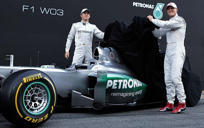 Mercedes GP 2012: la continuidad como camino hacia el podio