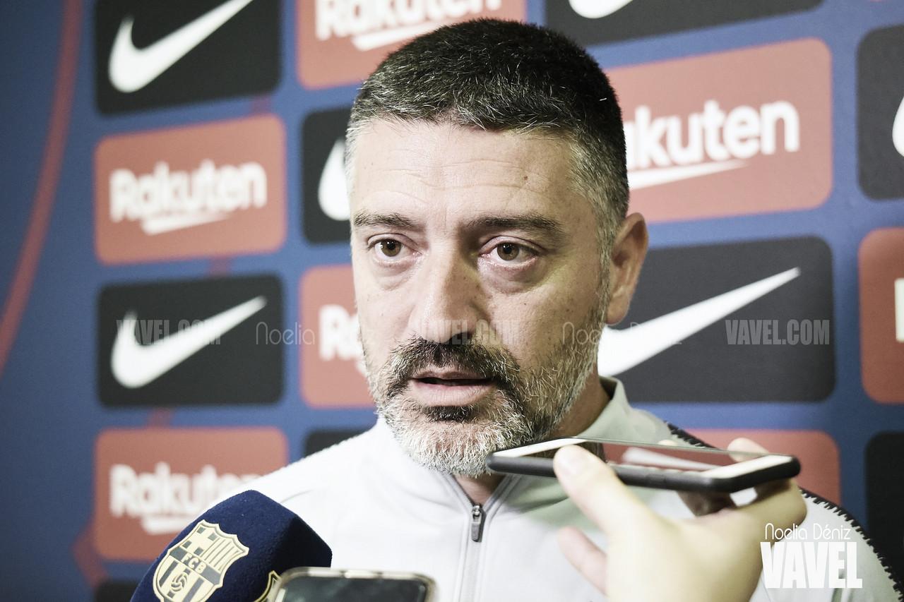 """García Pimienta: """"El Teruel intentará quitarnos el balón"""""""
