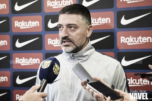 """García Pimienta: """"Los jugadores lo darán todo"""""""