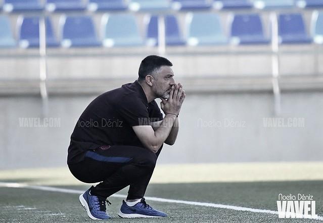 """García Pimienta: """"Queremos ser protagonistas, tener la pelota y ser fieles a nuestro estilo"""""""