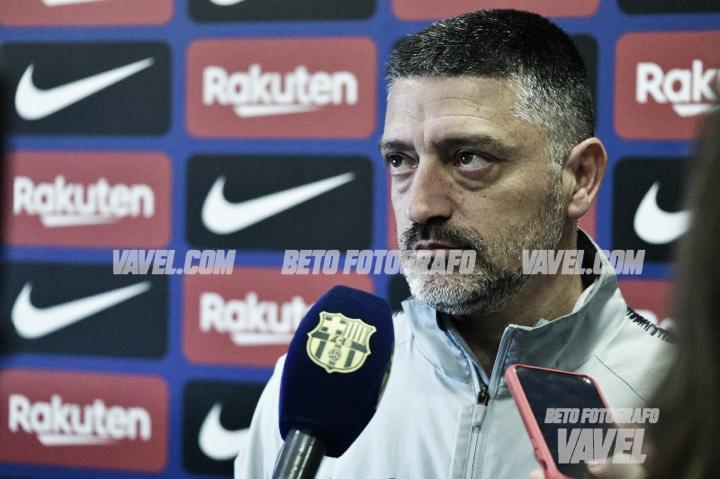 """García Pimienta: """"Si no damos nuestra mejor versión será imposible sacar los tres puntos"""""""