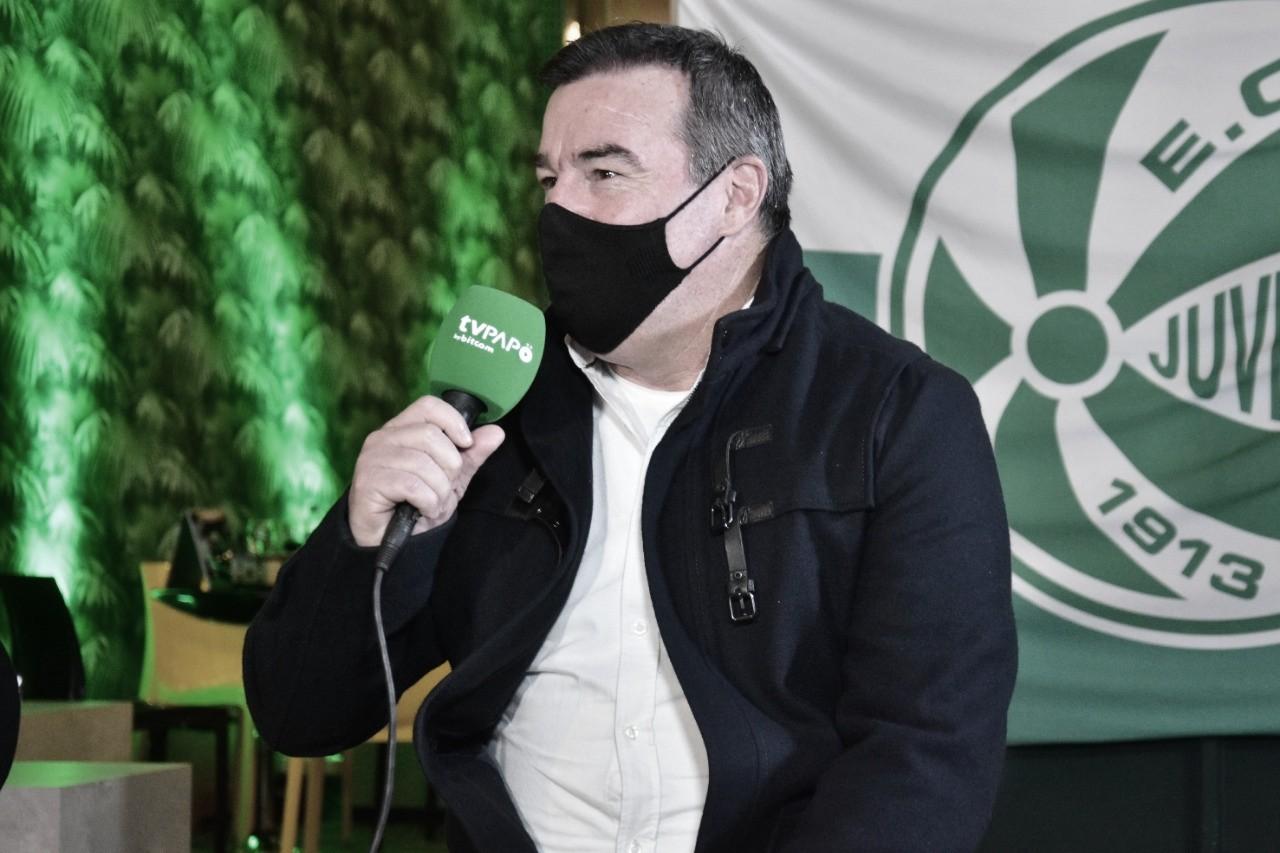 """Pintado lamenta terceiro empate seguido do Juventude: """"Pode comprometer nosso objetivo"""""""