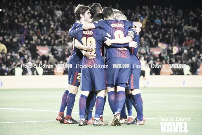 El Barça sigue ganando en el Camp Nou