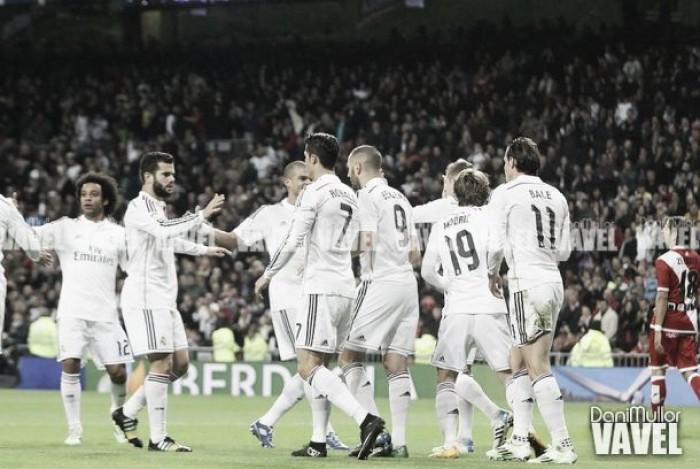 Así llega el Real Madrid al choque ante el Real Betis