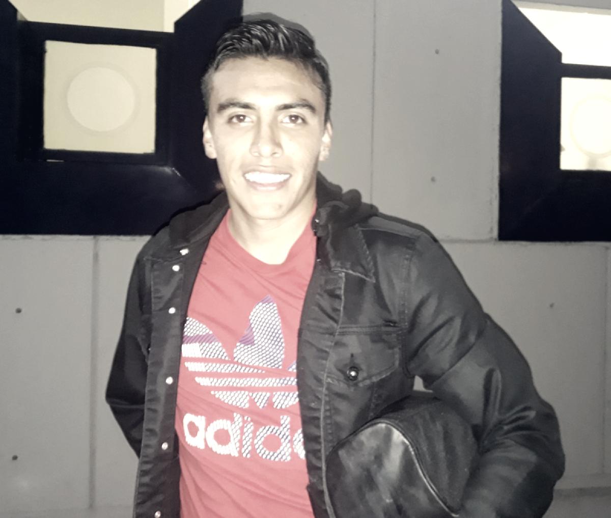 """Diego Pineda: """"Contento, vamos paso a paso y agarrando ritmo"""""""