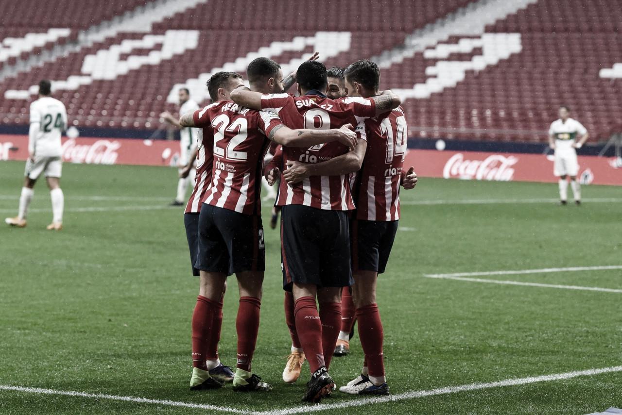 Resumen del Atlético de Madrid vs Elche (3-1) en La Liga Santander 2020