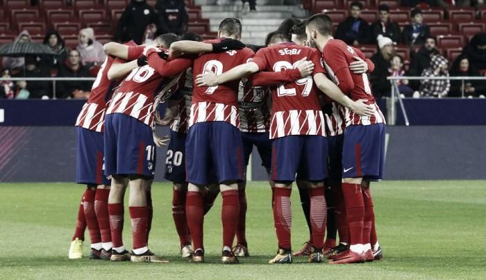 Puntuaciones del Atlético de Madrid - Lleida, vuelta de los octavos de Copa del Rey