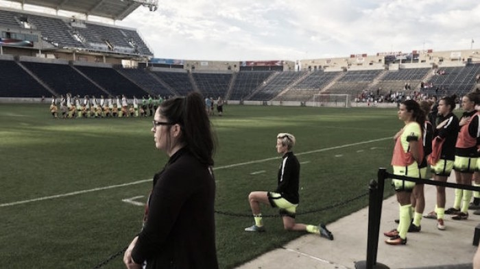 Megan Rapinoe, the Washington Spirit, and why protest is a good thing