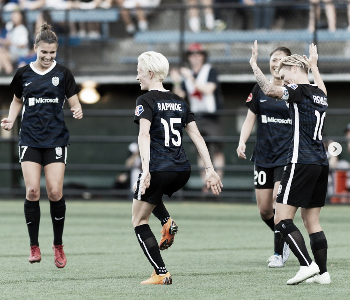 Seattle Reign FC stomps Sky Blue FC to gain sole control of second place