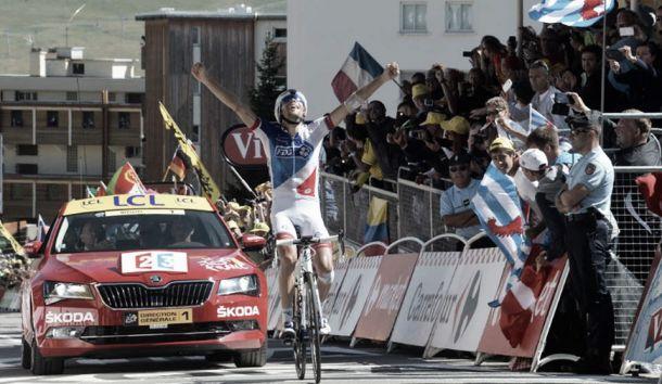 Tour de France, Froome resiste e vince la Grand Boucle. L'Alpe d'Huez a Pinot