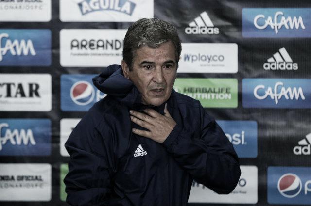"""Jorge Luis Pinto: """"Tuvimos la opción más clara del partido y no la convertimos"""""""