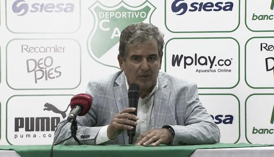 """Jorge Luis Pinto: """"Me encanto Millonarios y nos vamos contentos"""""""