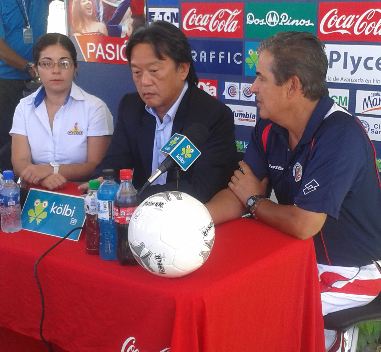 Fotografía: Juan Diego Córdoba | Pinto en conferencia de prensa esta mañana
