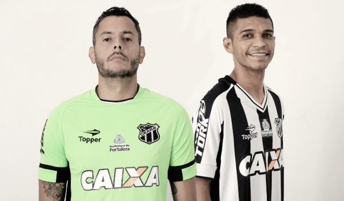 Visando a Série B, Ceará anuncia contratações de Pio e goleiro Fernando Henrique