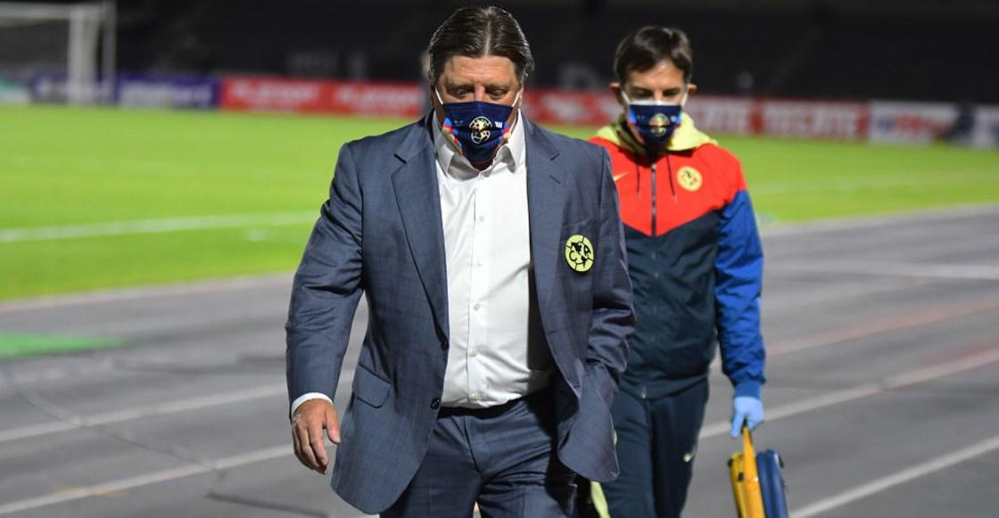 """Miguel Herrera: """"No estoy contento pero teníamos que descansar jugadores"""""""