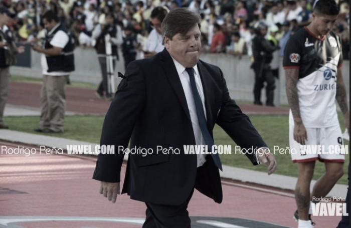 """Miguel Herrera """"No debemos regalarle nada al rival"""""""