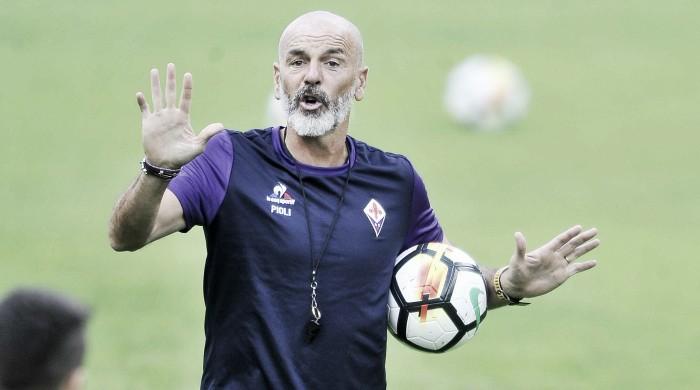 """Fiorentina, la ricetta di Pioli per la Juve: """"Giocare con personalità e gestire bene il pallone"""""""