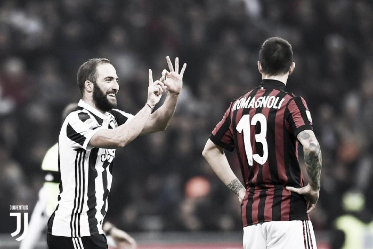 Possibile clamoroso ritorno di Bonucci alla Juventus. Il Milan vuole Higuain