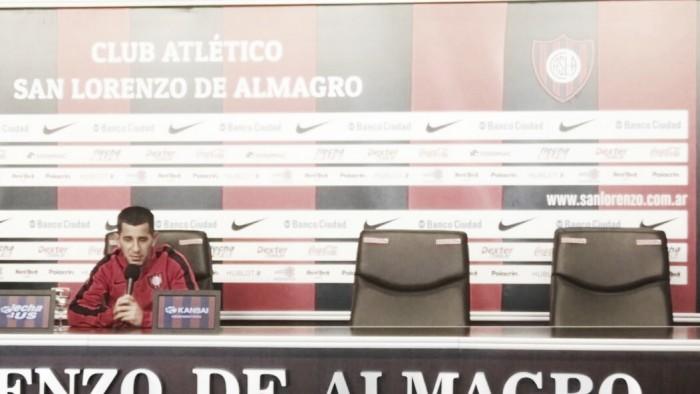 """Leandro Romagnoli: """"Voy a renovar seis meses más con San Lorenzo"""""""