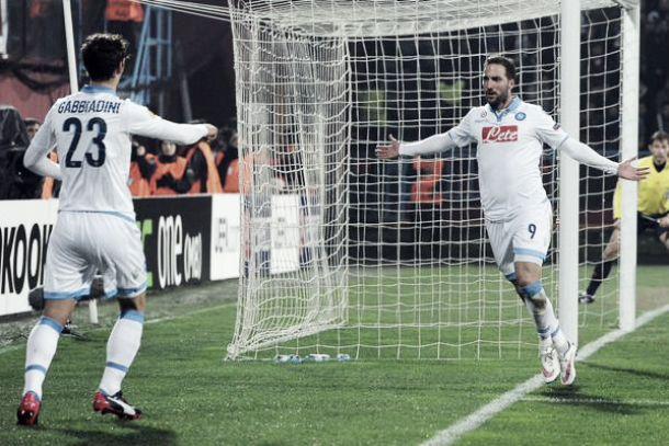 """Napoli corsaro, Benitez: """"Sono molto soddisfatto. Abbiamo fatto tutto bene"""""""