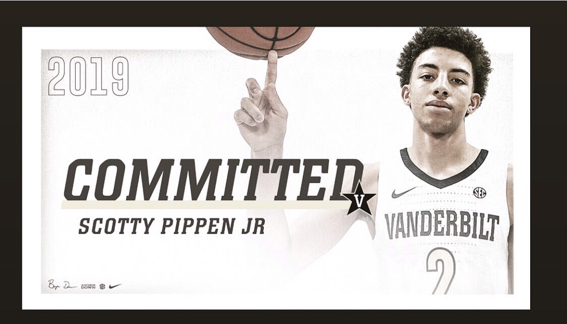 Scotty Pippen Jr. irá a Vanderbilt