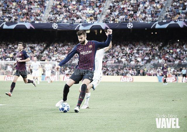 """Gerard Piqué: """"Encajamos con facilidad en jugadas que se pueden evitar""""."""