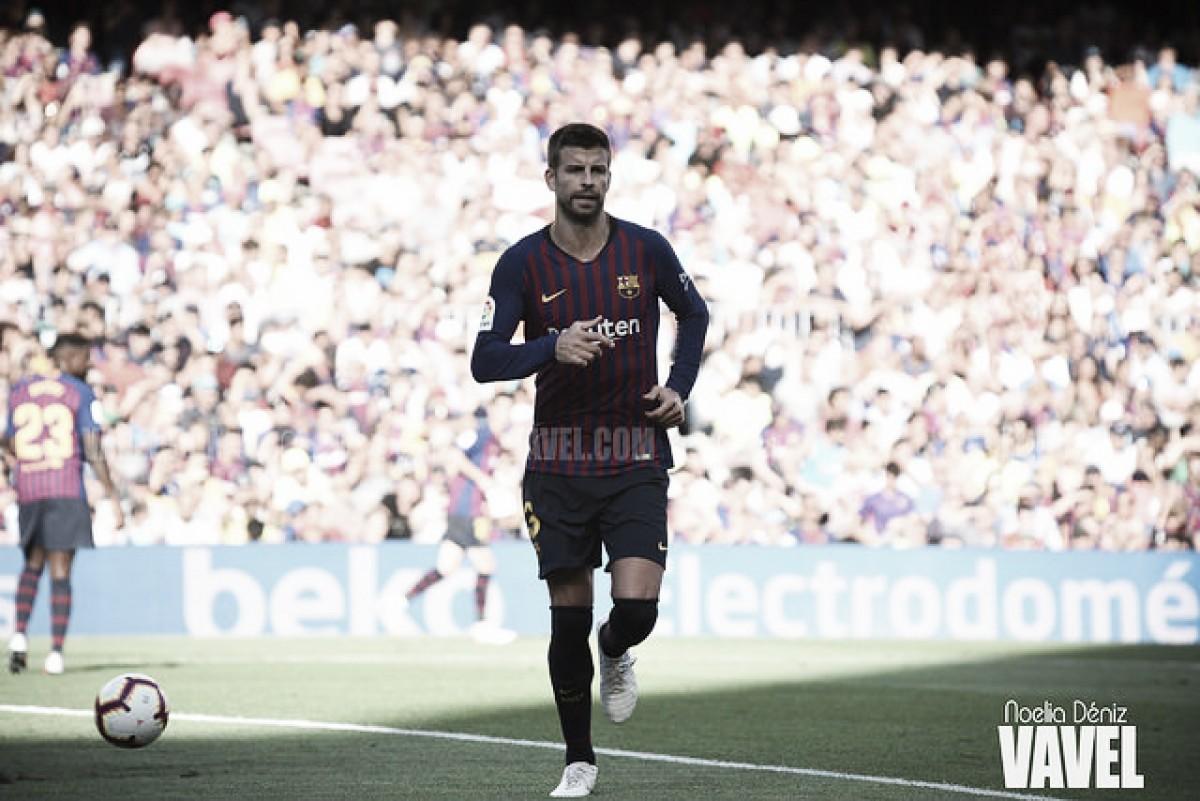 """Piqué: """"Iremos a por otra Copa del Rey"""""""