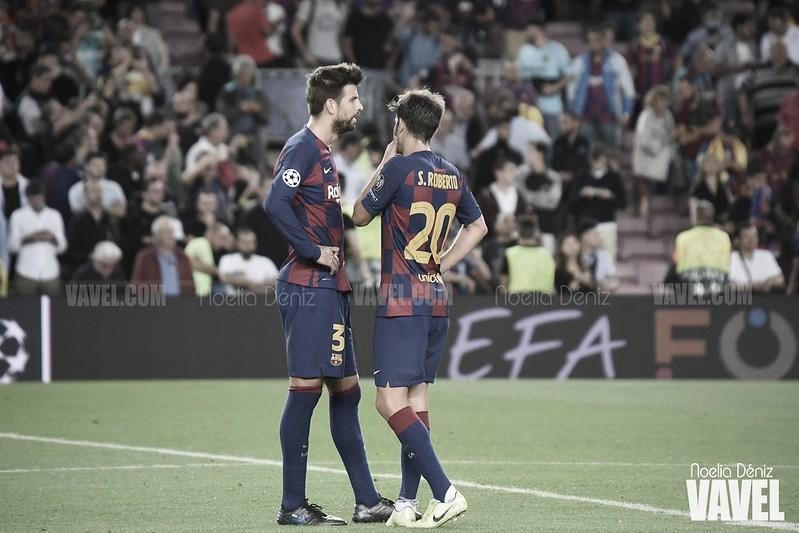 Convocatoria del Barcelona: sin Piqué ni Sergi Roberto