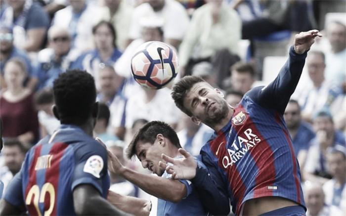 """Piqué: """"Estamos no Barcelona, temos que assumir riscos"""""""